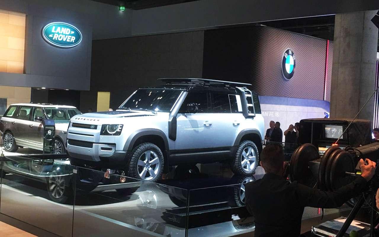 Новый Land Rover Defender: онбольше нерамный!— фото 995245
