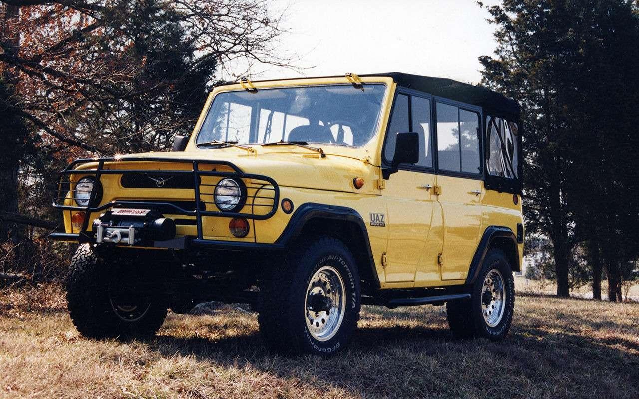 «Козлик» УАЗ-469— таких модификаций выточно невидели!— фото 978729