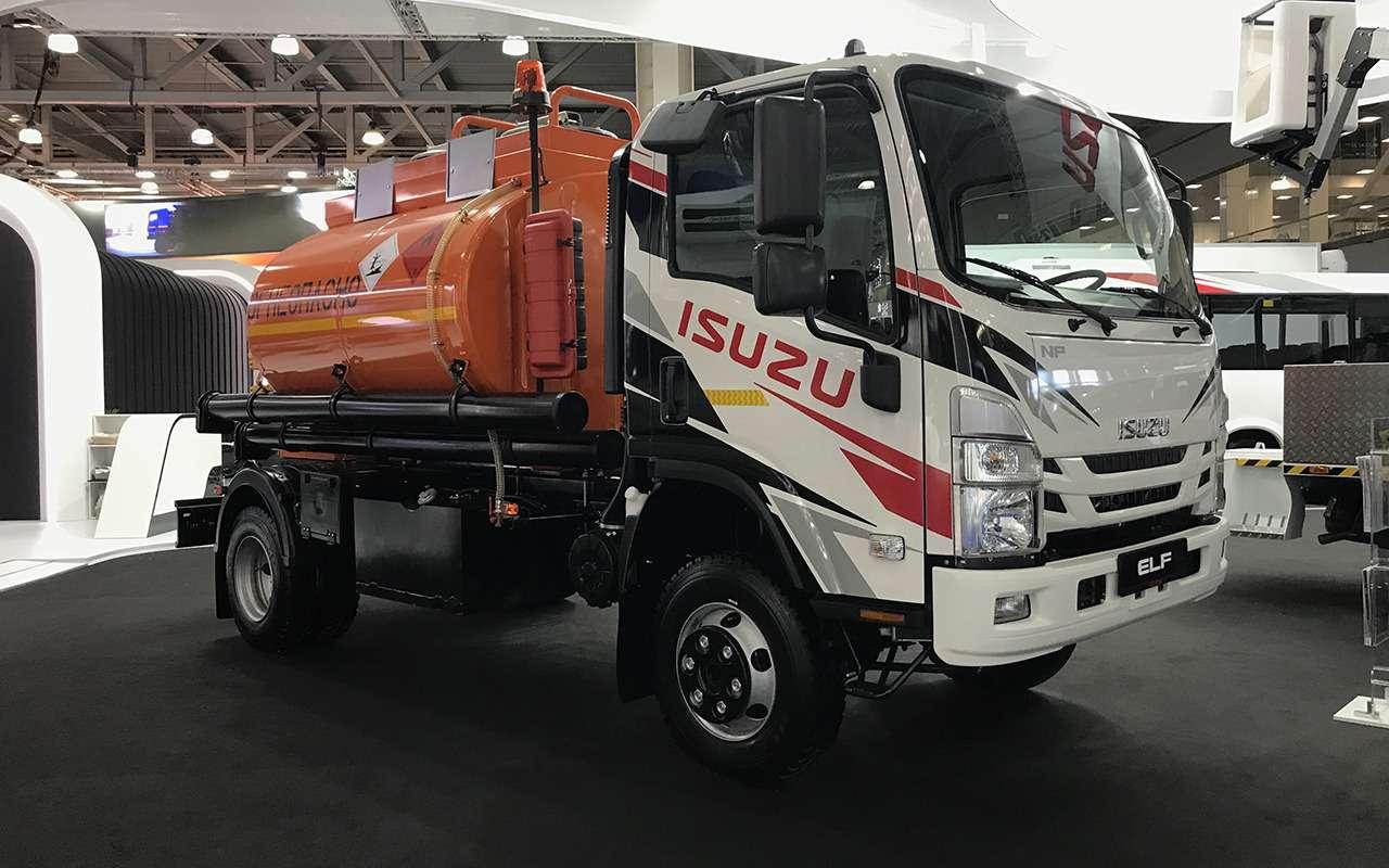Всетяжелые грузовики наCOMTRANS 2021— фото 1276746