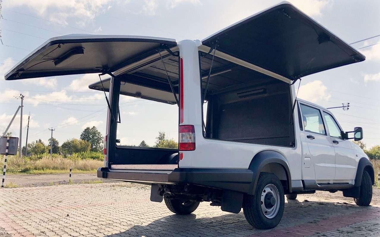 Новые варианты УАЗ Профи— служебный, специальный, автодом!— фото 1236908