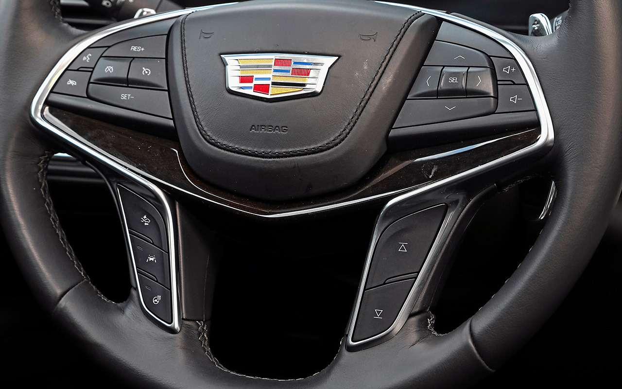 Большой тест престижных седанов: новый Lexus LS500и конкуренты— фото 928742