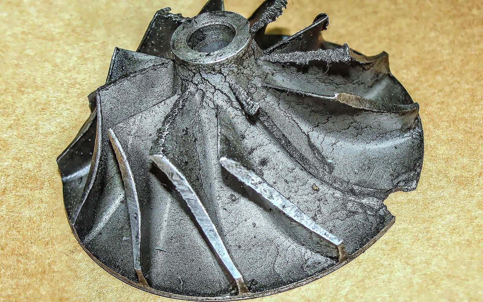 крыльчатка турбокомпрессора
