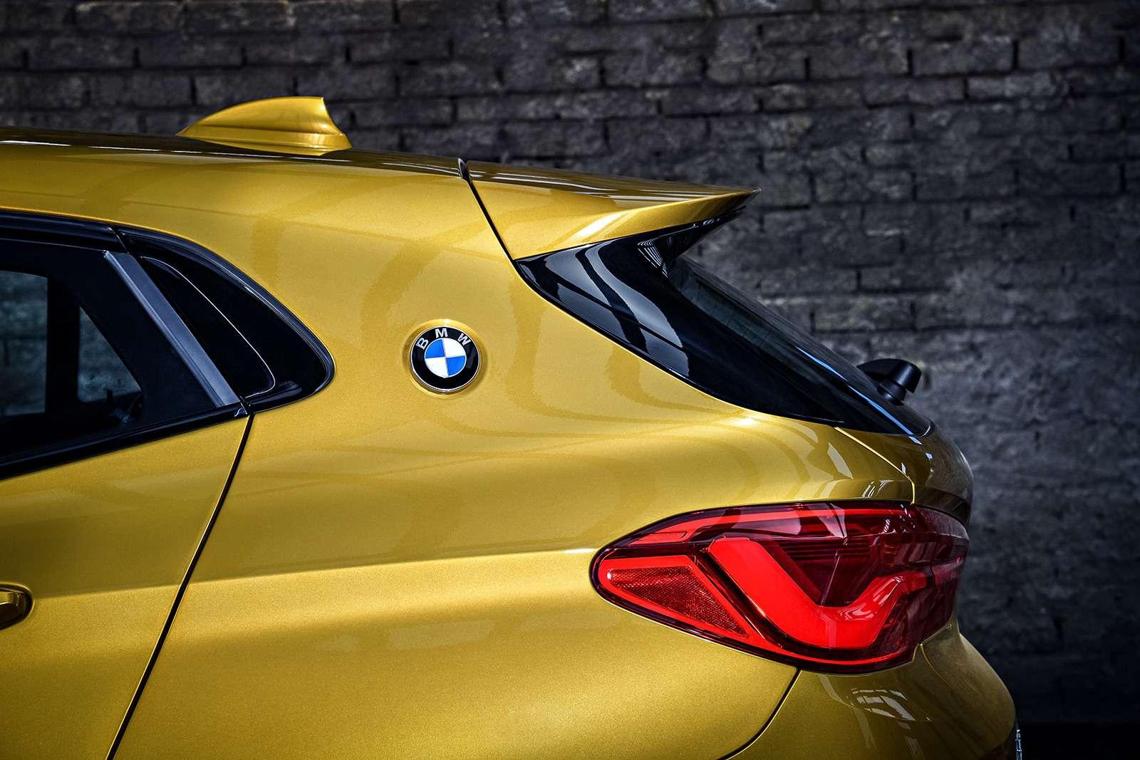 BMWрассекретила российские цены накроссовер X2— фото 809828