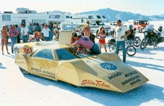 Рекорд скорости дляпаромобилей