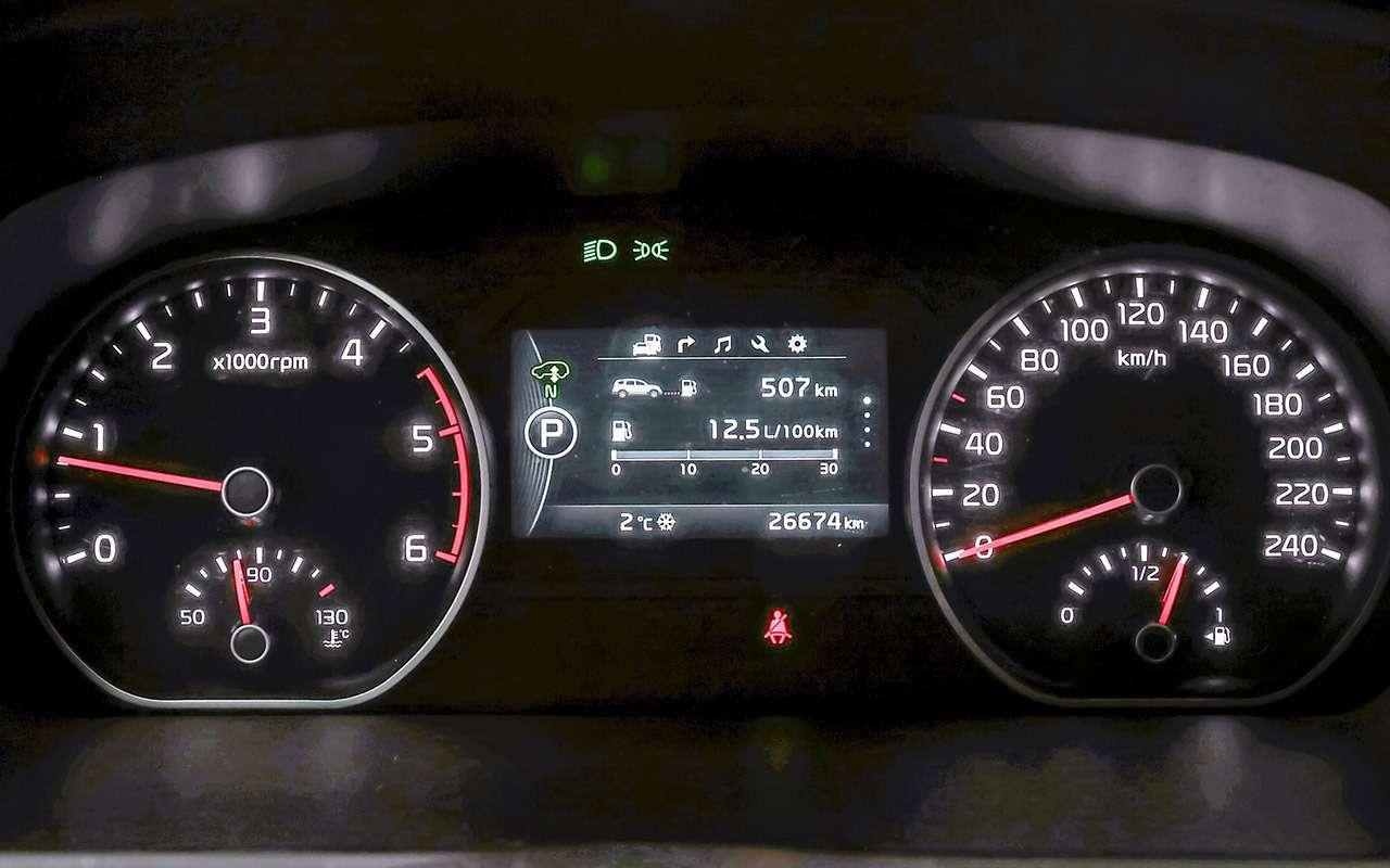 Toyota Fortuner, Mitsubishi Pajero Sport, Kia Mohave  — супертест — фото 855658