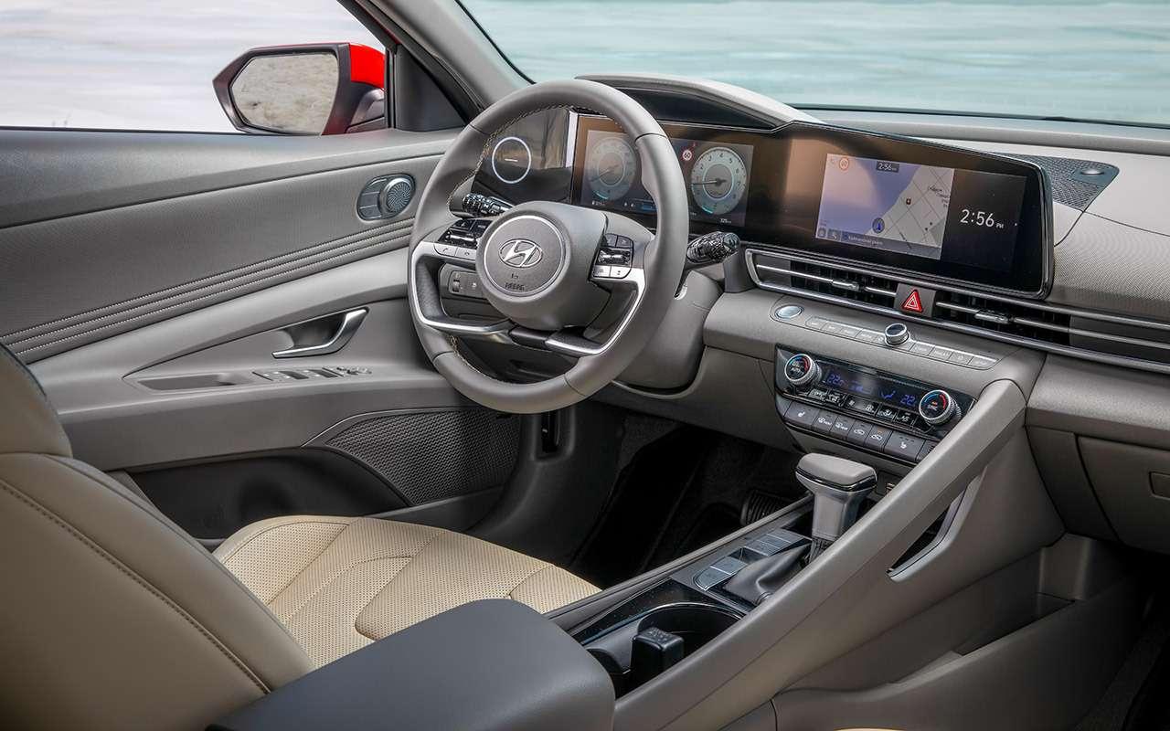 Новая Hyundai Elantra— тест российской глубинкой— фото 1247131