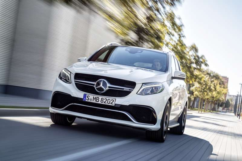 Mercedes-AMG GLE 63 S, W 166,  face lift 2015