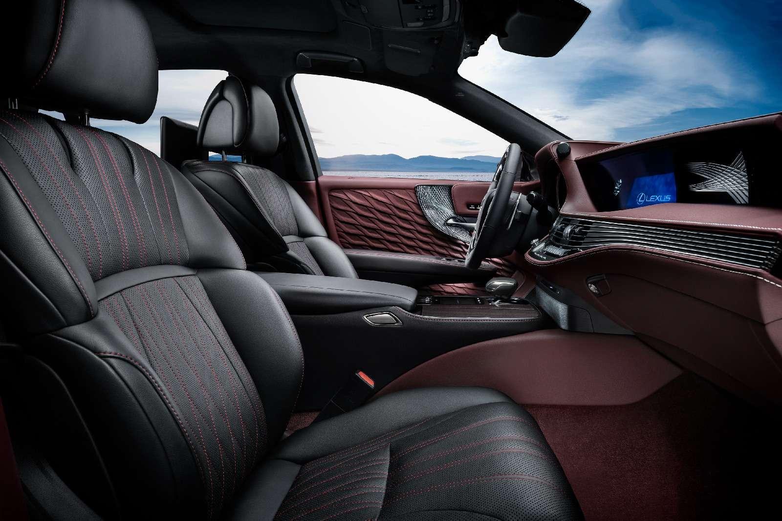 Новый Lexus LSпредстал вЖеневе вгибридном исполнении 500h— фото 718368