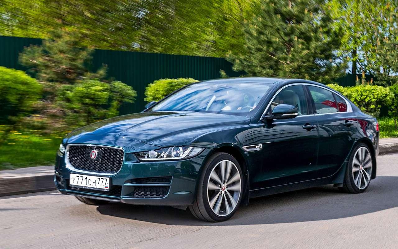Jaguar'ы XEизпарка ЗР— дизель против бензина— фото 801072