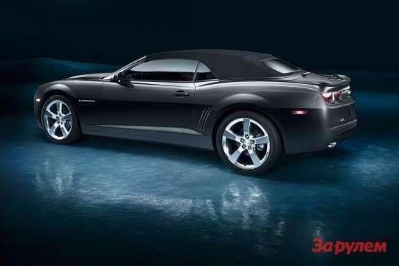 Chevrolet Camaro Convertible side-rear view