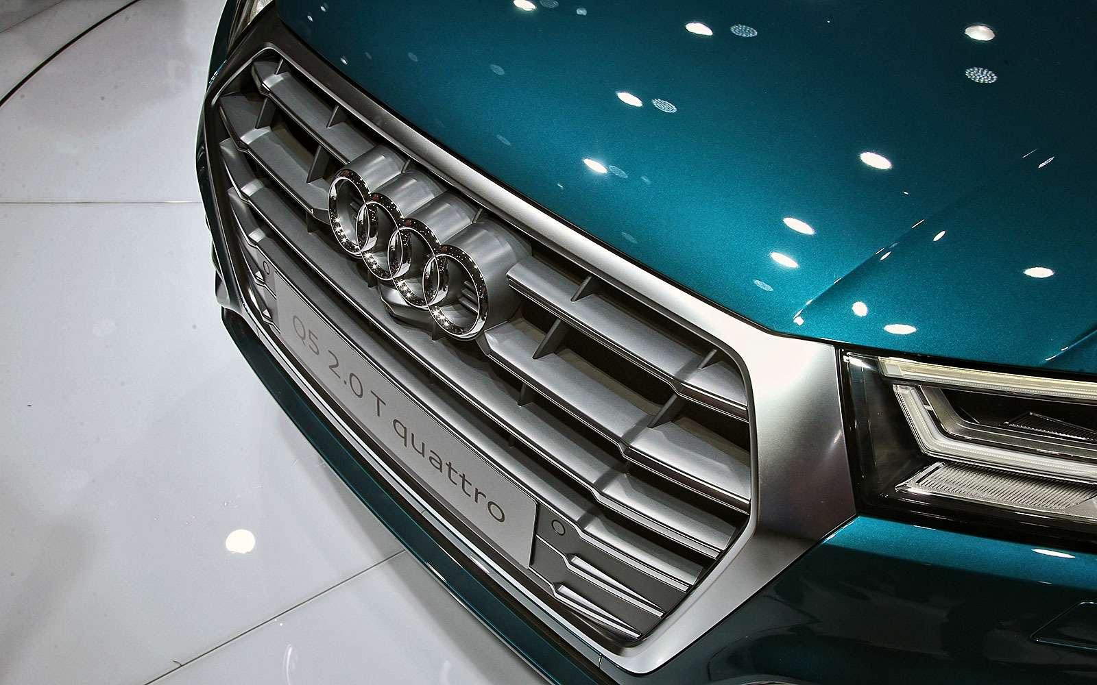 Младший брат: новый Audi Q5начал принимать комплименты— фото 641857