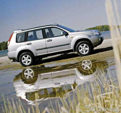 Nissan X-Trail. Японец вФинляндии— фото 25169