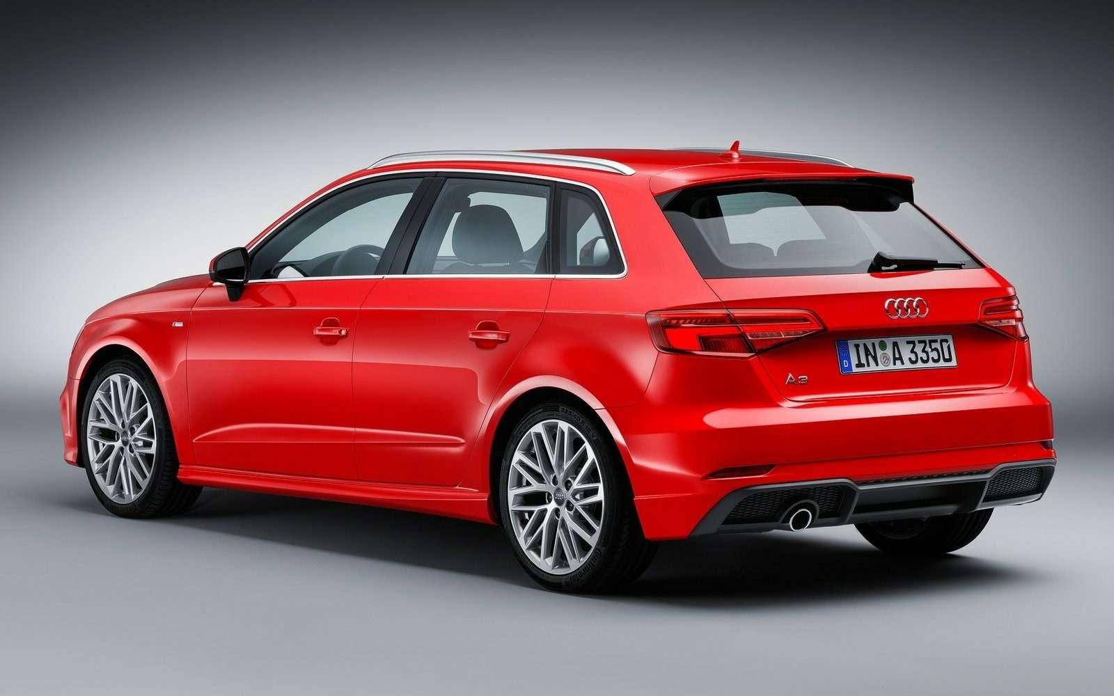 Обновленный Audi A3в России: без трехдверки, кабриолета идизелей— фото 597205
