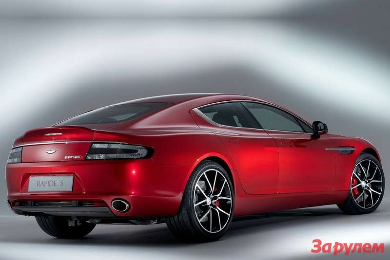 Aston Martin Rapide S side-rear view