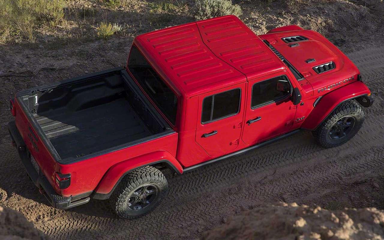 Jeep Gladiator: американцы вернулись всегмент пикапов— фото 927237