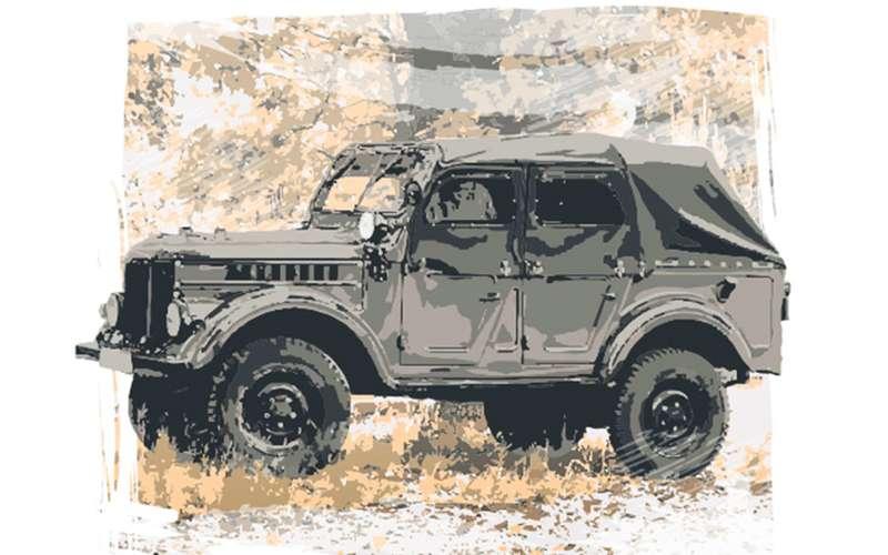 ГАЗ-69: выпомните, что у«козлика» небыло окон?