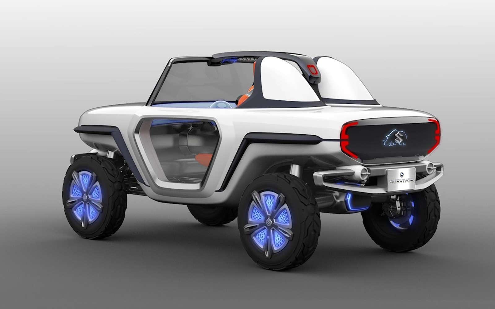 Suzuki сделала внедорожник длиной 346 сантиметров— фото 797422