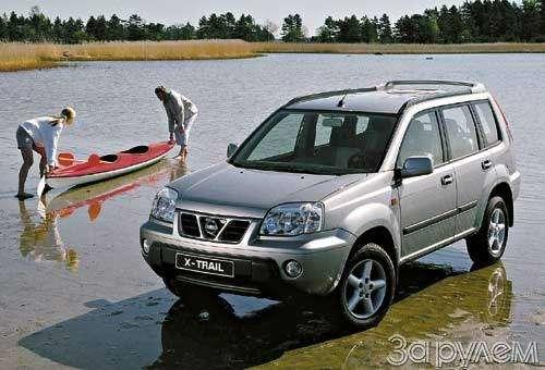 Nissan X-Trail. Японец вФинляндии— фото 25165