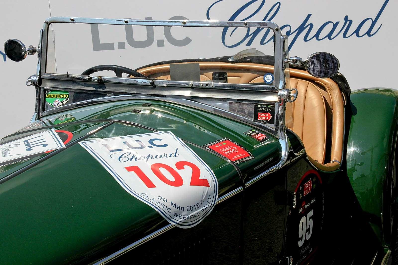 L.U.C Chopard Classic Weekend Rally: эмоции сналетом старины— фото 595980