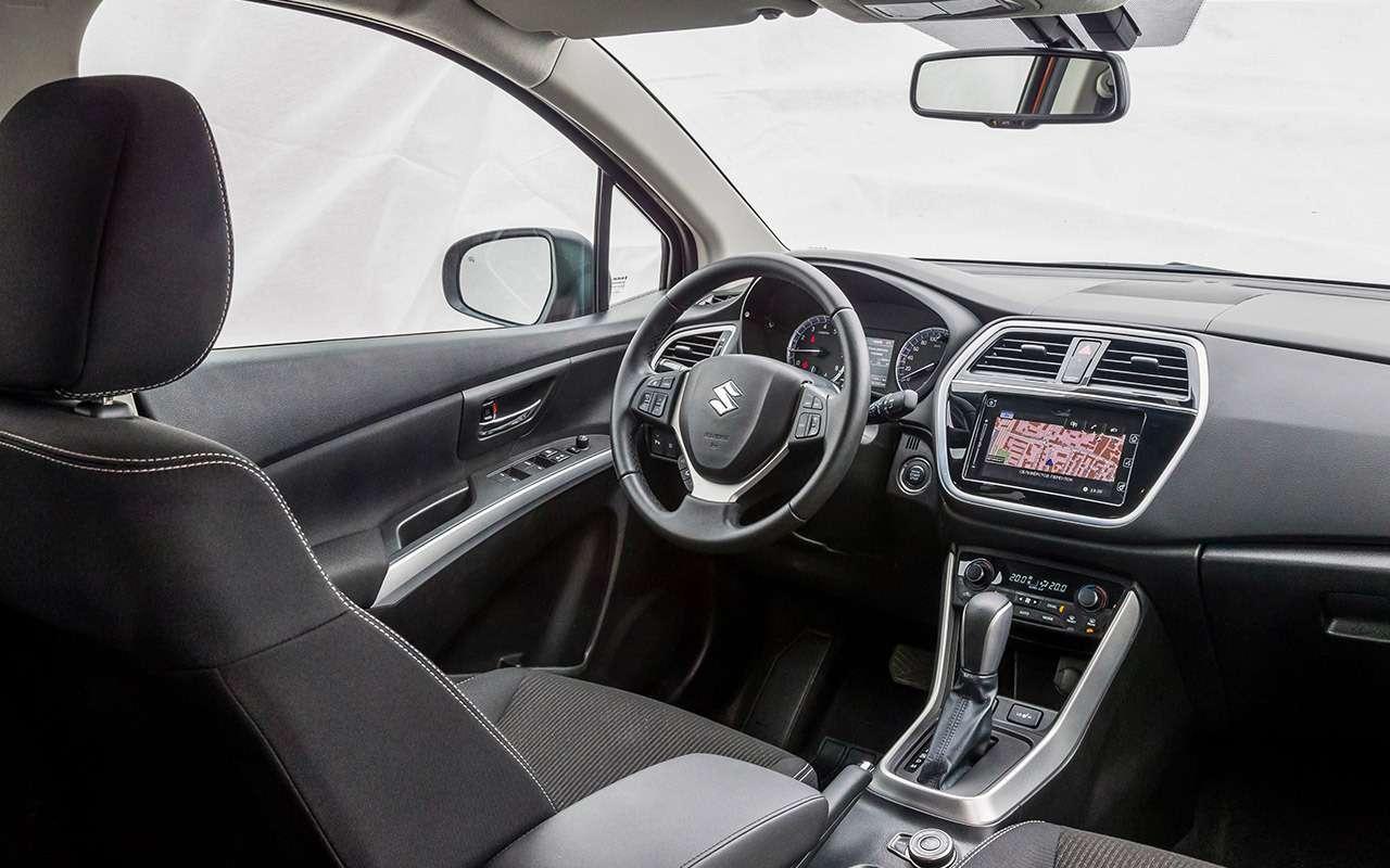 Большой тест кроссоверов: Nissan Qashqai, Mitsubishi ASX иSuzuki SX4— фото 978198