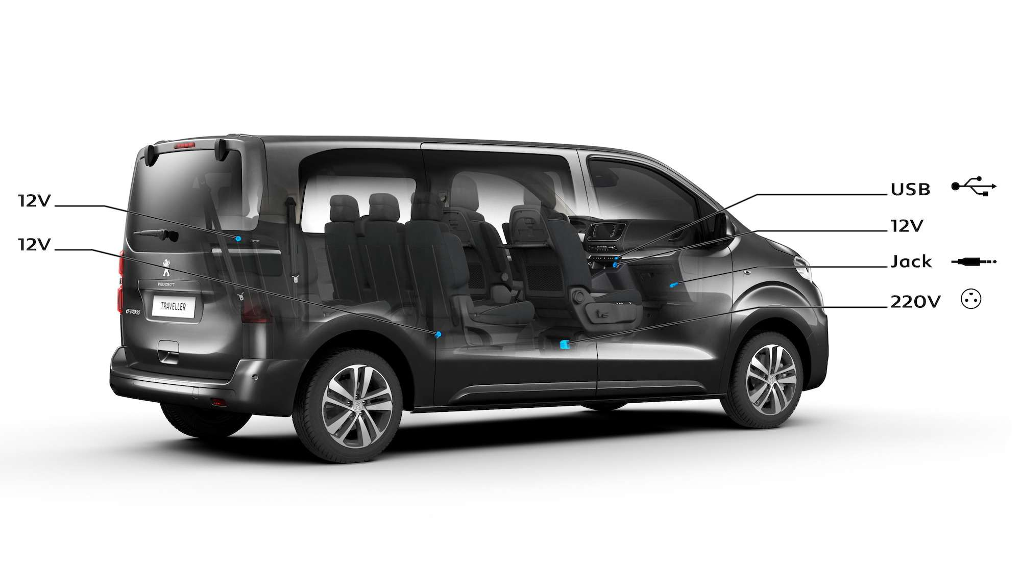 Peugeot Traveller VIP Business: сообразим на семерых? — фото 905196