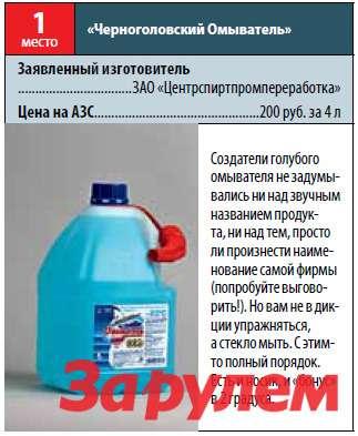Черноголовский омыватель