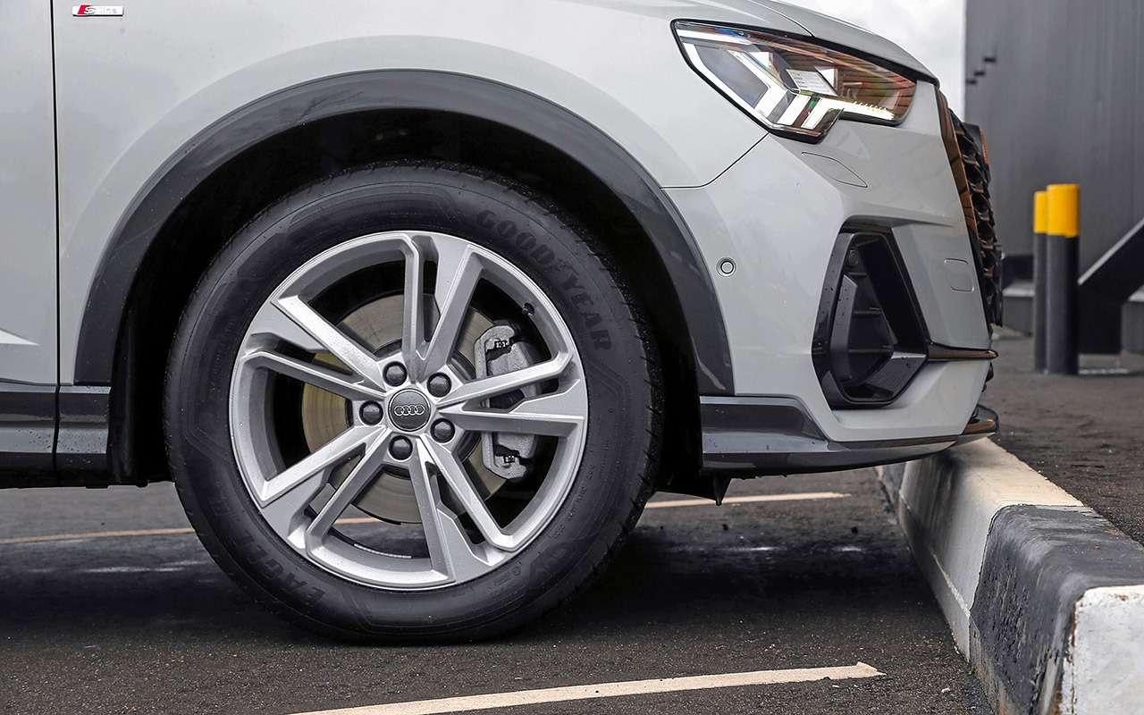 Audi, Mercedes, Range Rover иVolvo: большой тест— фото 1215206