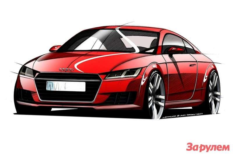Новый Audi TT (дизайн-скетч)