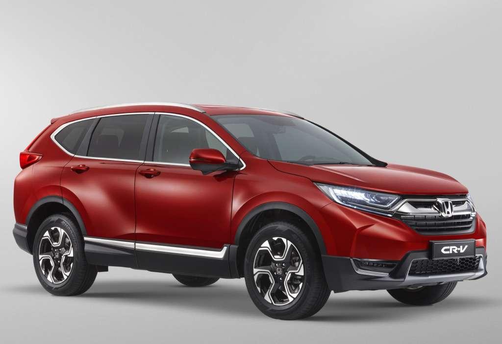 Новая Honda CR-V приехала вРоссию: названы цены— фото 753523