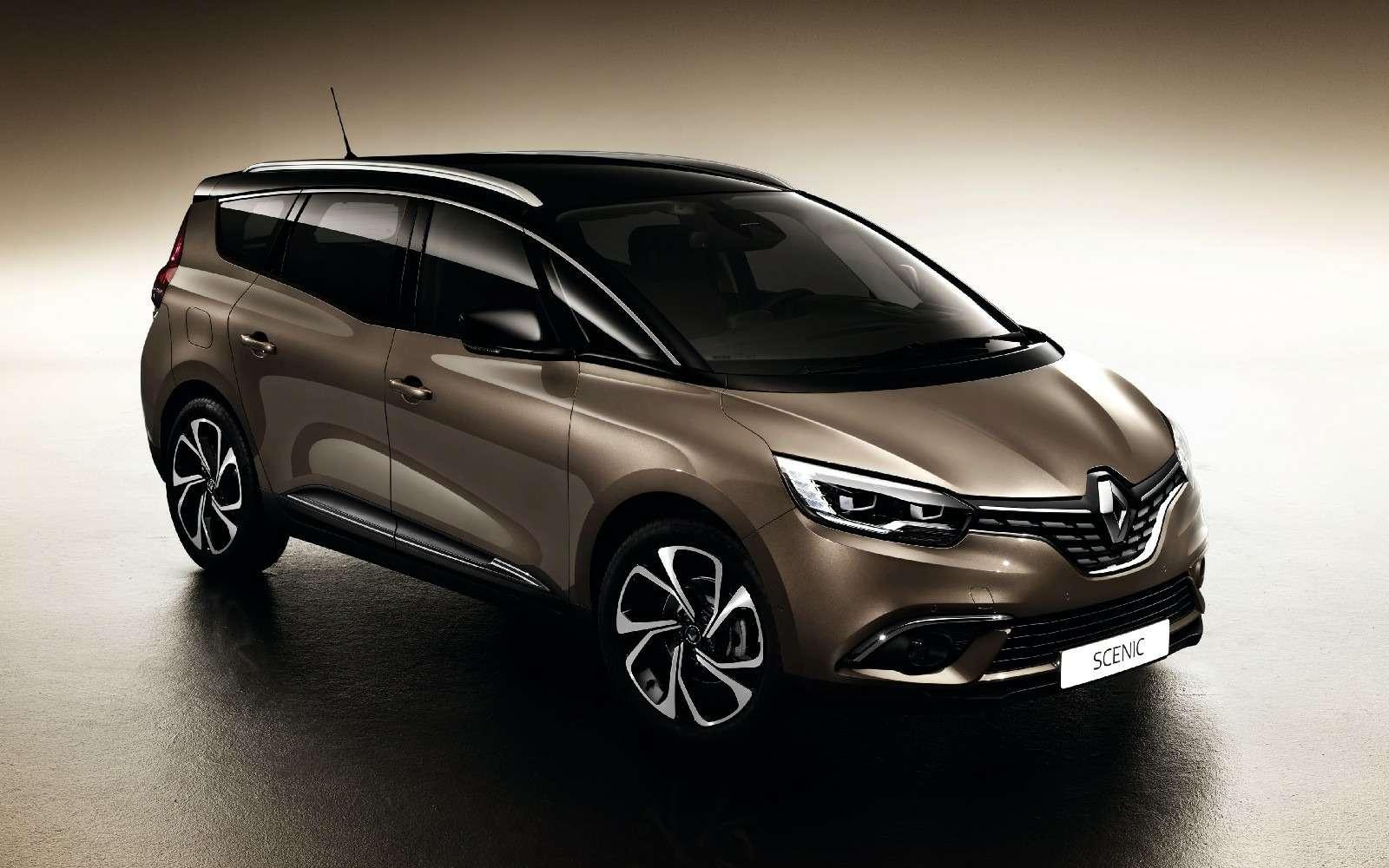 Renault Grand Scenic соблазняет сантиметрами, дюймами илитрами— фото 590952