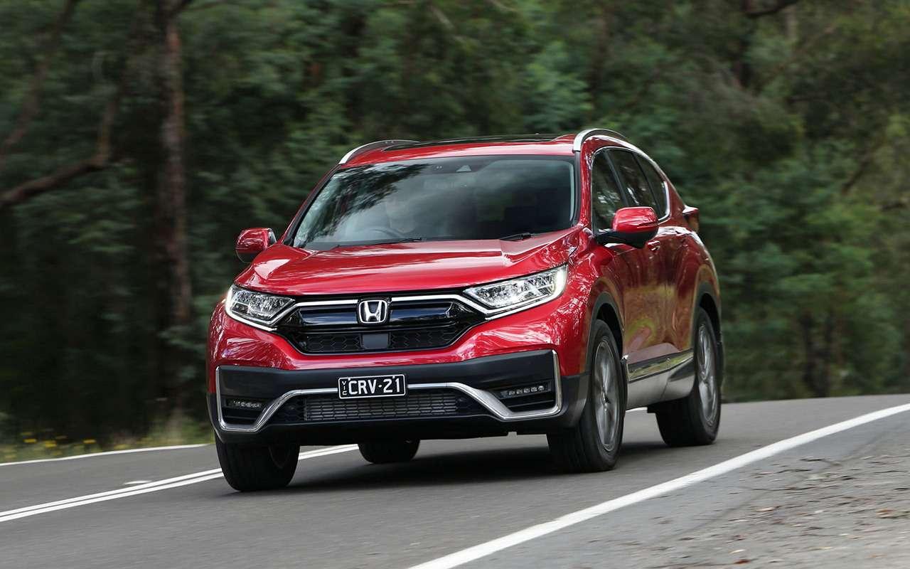 Обновленный Honda CR-V— скоро вРоссии— фото 1164773