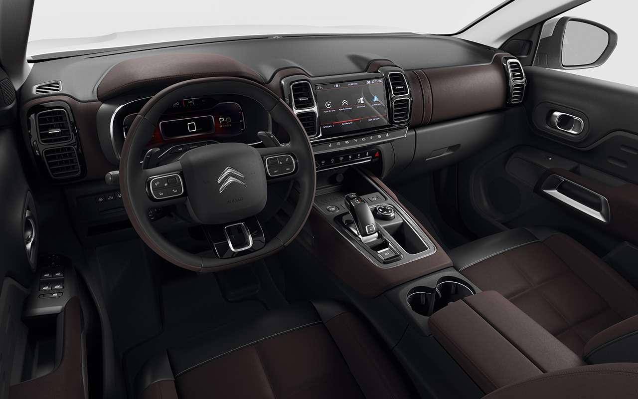 Большой кроссовер Citroen C5Aircross: скоро начнутся продажи вРоссии— фото 950229