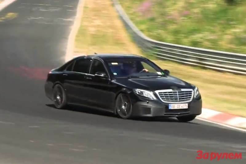 Mercedes Benz S 65 AMG test prototype 2
