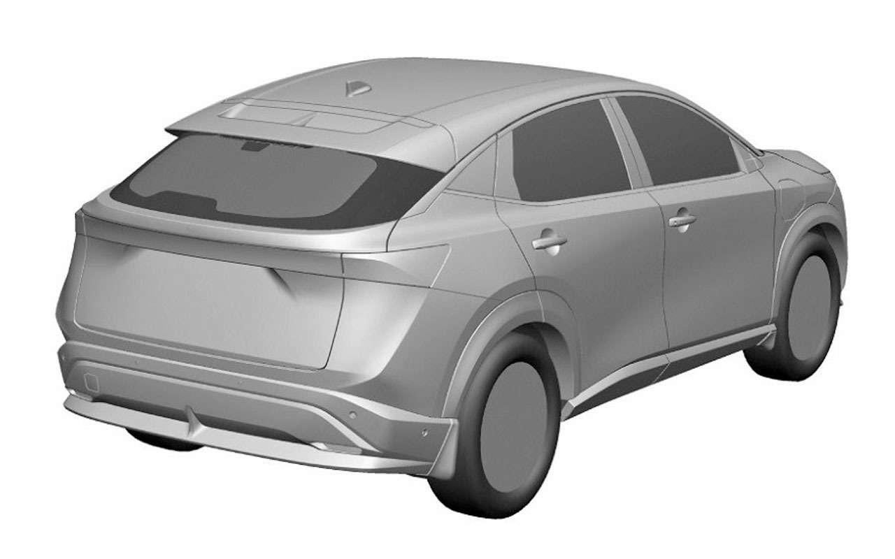 Nissan запатентовал новый кроссовер дляРоссии— фото 1195562