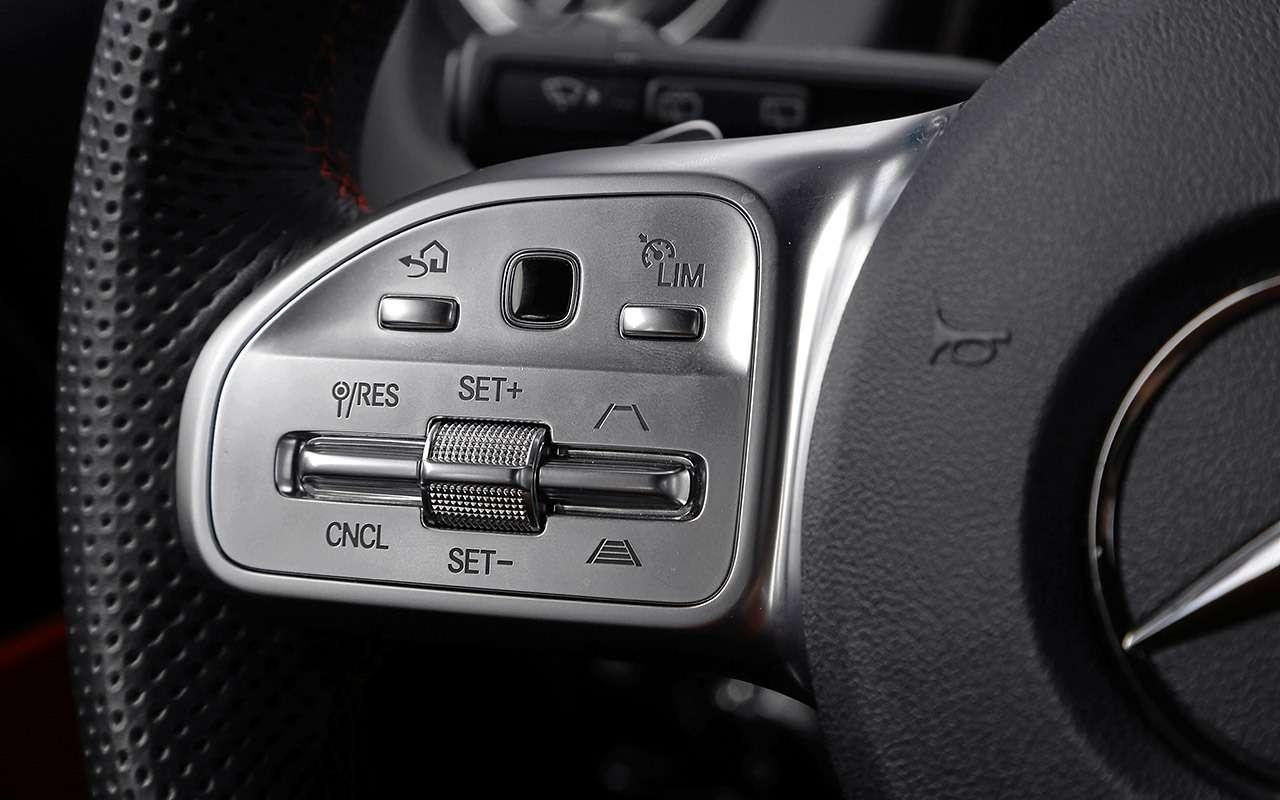 Тест самого дешевого кроссовера Mercedes— фото 1171761