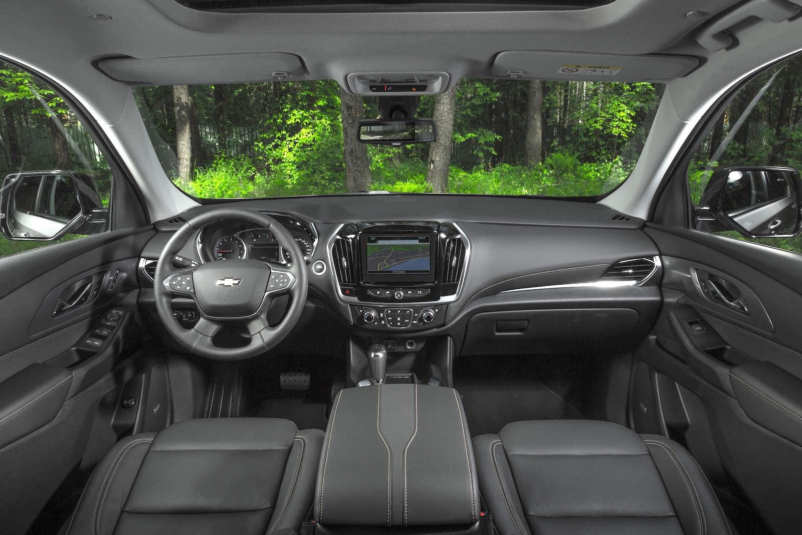 Тест-драйв Chevrolet Traverse: найти ребенка вбагажнике— фото 880712