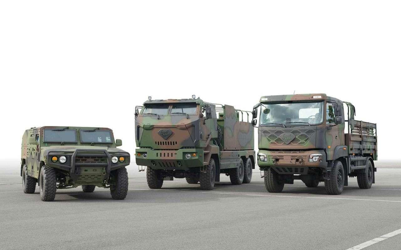 Kiaзаймется перевооружением Кореи— фото 1197657