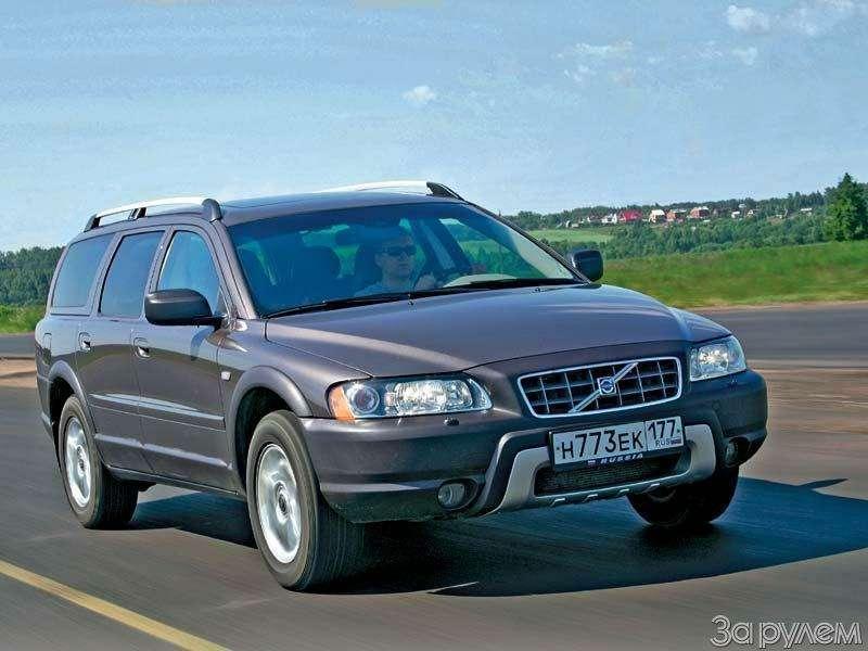 Тест Audi A6Allroad, Cadillac SRX, Volvo XC70. Выше среднего— фото 67344