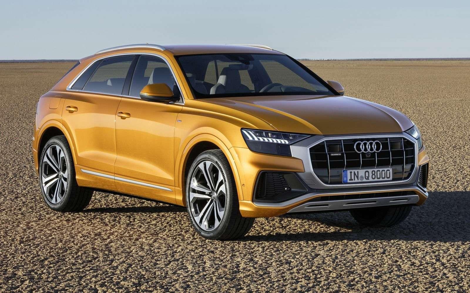 Встречаем Audi Q8: хай-тек плюс ностальгия по80-м— фото 876428