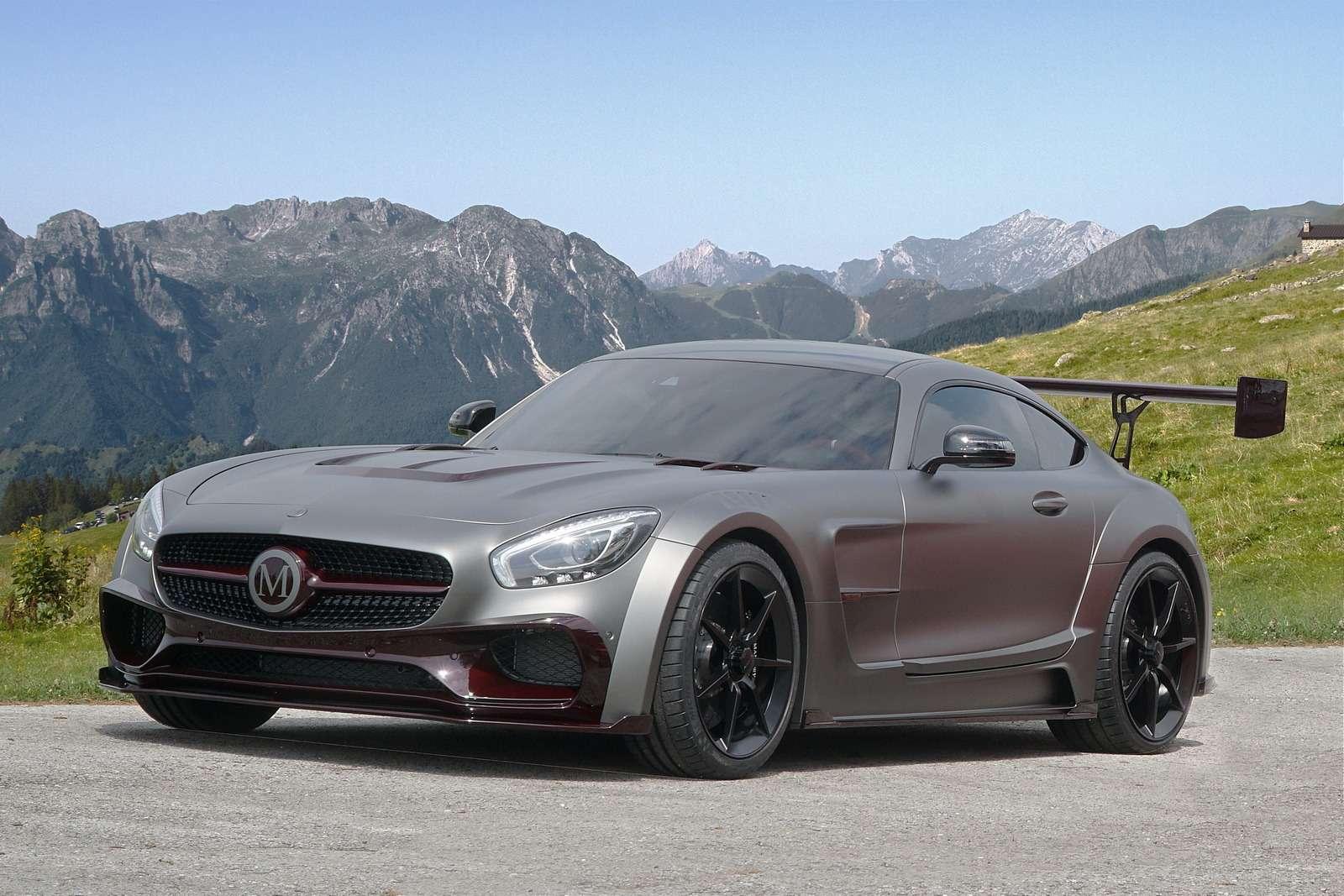 Окрыленный яростью: заряженный Mercedes-AMG GTSрвется вбой— фото 599200