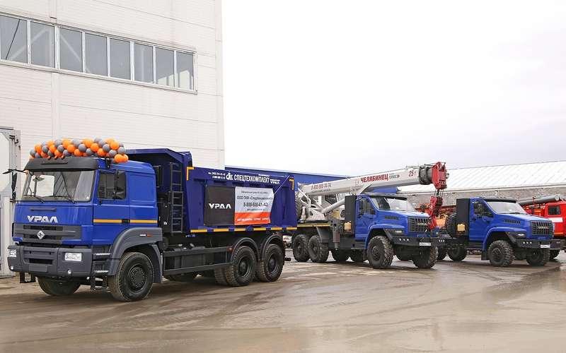Новый грузовик Урал— конкурент КАМАЗа. Первые фото серийной машины