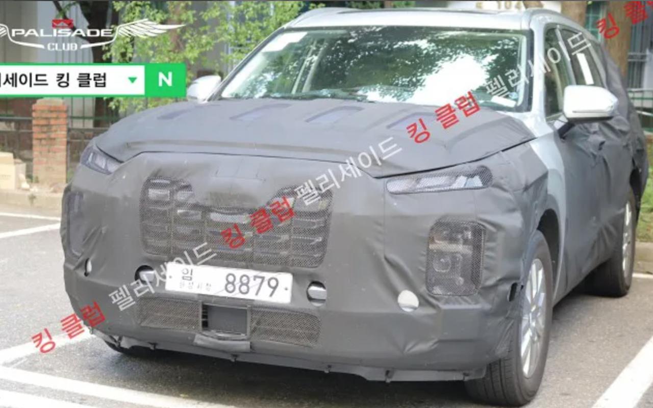 Hyundai Palisade: скоро обновление— фото 1274811