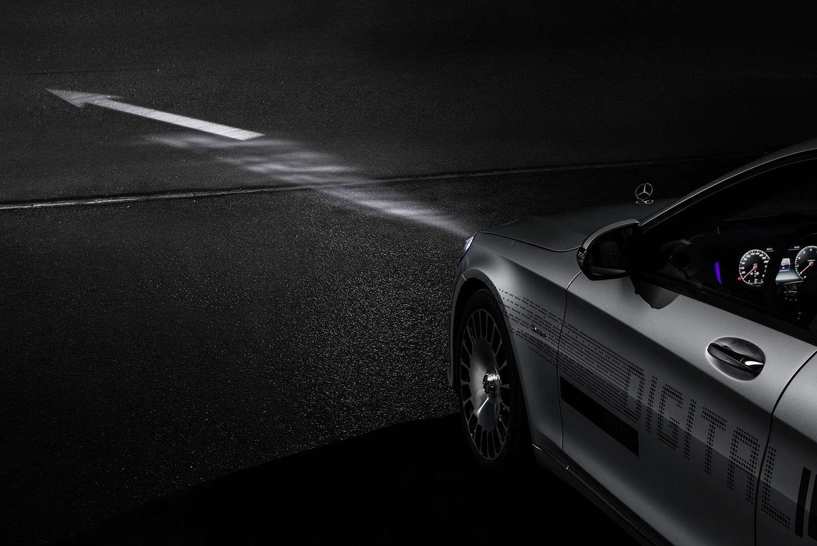 «Ярисую наасфальте»: Mercedes-Maybach представил уникальные фары— фото 851493