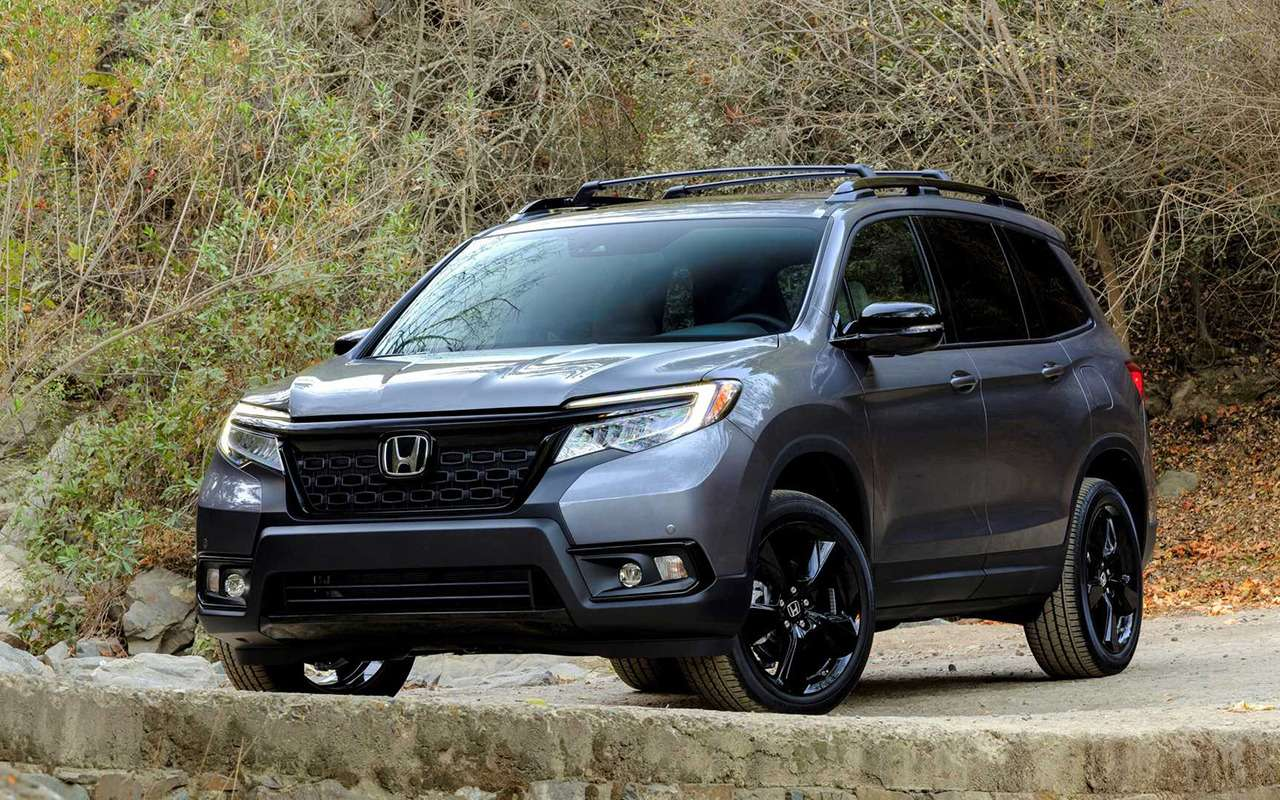 Honda Passport SUV 2019на автосалоне вЛос-Анджелесе: привет изпрошлого— фото 929304