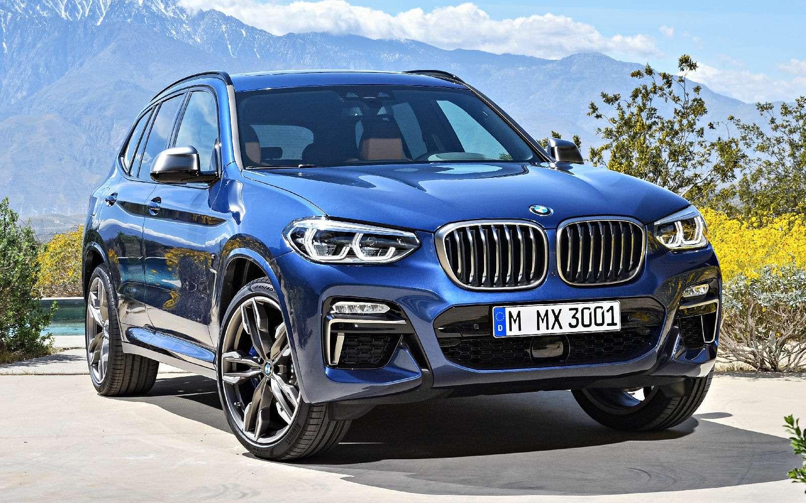 Новый BMW X3оказался крупнее старого Х5— фото 768539