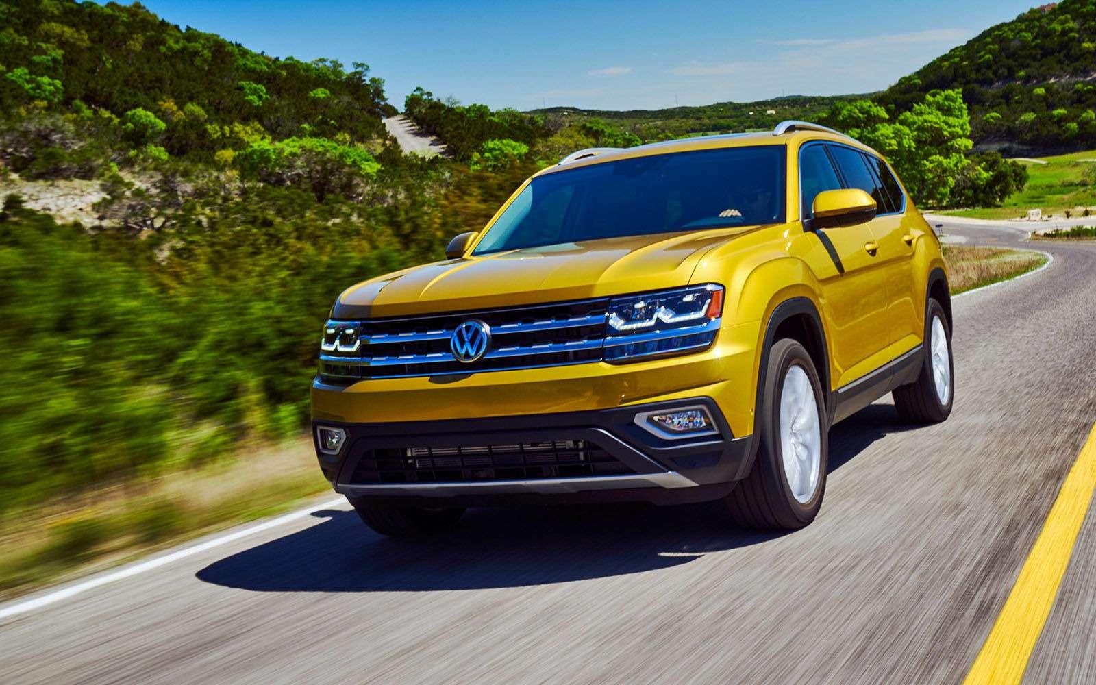 Volkswagen Teramont: оноказался дешевле конкурентов— фото 845581