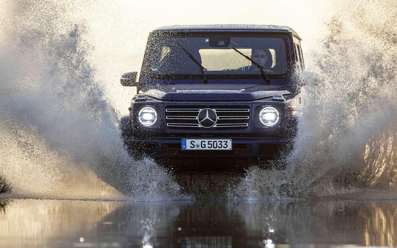 Новый Mercedes-Benz G-класса: первый тест-драйв— фото 867941