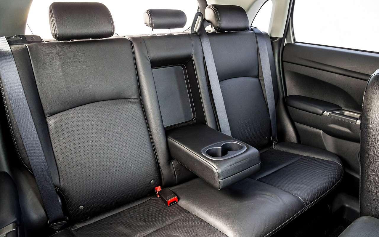Большой тест кроссоверов: Nissan Qashqai, Mitsubishi ASX иSuzuki SX4— фото 978178