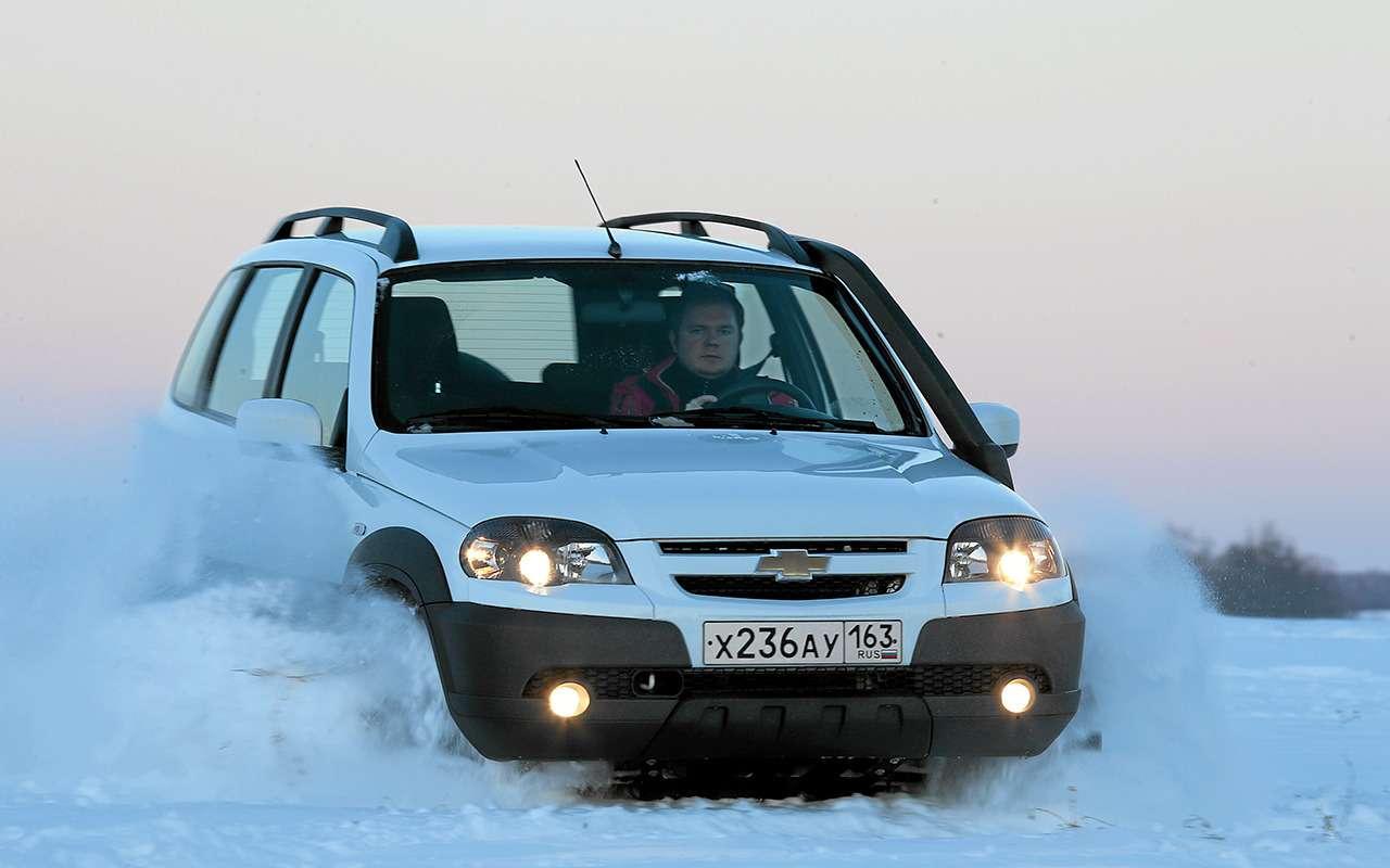 УАЗПатриот, Chevrolet Niva или Renault Duster: что лучше?— фото 924630