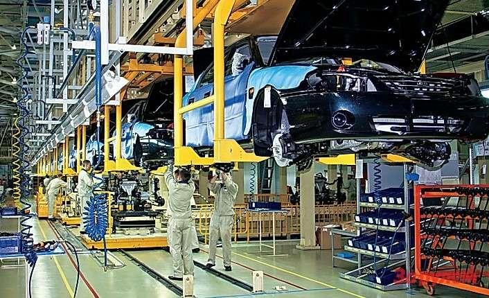 Оборудование наконвейерных нитках, где собирали корейские автомобили, только современное.
